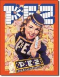 PEZ America Tin Sign