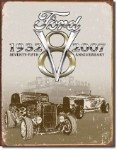 Ford Deuce 75th Anniversary Tin Sign