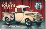 39' Ford Pick-up Tin Sign
