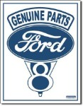 Ford V8 Tin Sign