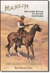 Marlin Cowboy Tin Sign