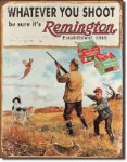 Remington Ammo Tin Sign
