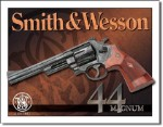 Smith & Wesson 44 Magnum Tin Sign