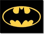 Batman Logo Tin Sign