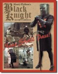 Black Knight Security Tin Sign