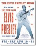 Elvis Presley Show Tin Sign