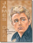 James Dean American Icon Tin Sign