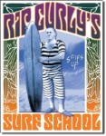 Rip Curly Surf School Tin Sign