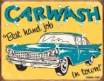 Moore Carwash Tin Sign