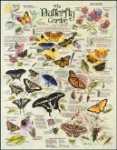 R. Lee Butterfly Garden Tin Sign