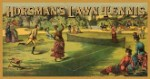 Horsman's Lawn Tennis Tin Sign