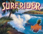 Surf Rider Tin Sign