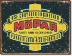 Mopar Logo '37 - '47 Tin Sign