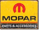 Mopar Logo '64 - '71 Tin Sign