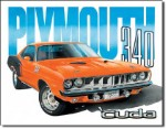 1971 Plymouth 'Cuda Tin Sign