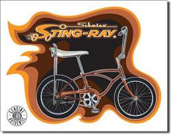 Schwinn Sting Ray Tin Sign