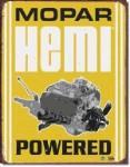 Mopar Hemi Powered Tin Sign