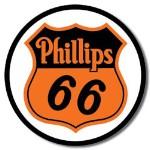 Phillips 66 Shield Tin Sign