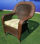Lexington Synthetic All Weather Wicker Dining Chair