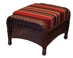 Lexington Synthetic All Weather Wicker Ottoman