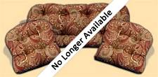 3 Piece Outdoor Replacement Cushion Set Merona Cinnabar
