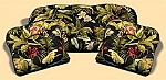 3 Piece Outdoor Replacement Cushion Set Wailea Coast Ebony