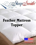 California Queen Feather Mattress Topper