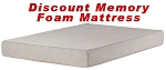 Bunk Bed Size Discount Memory Foam Mattress