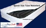 Queen Size Softside Waterbed With Foundation