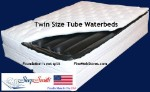 Twin Size Softside Waterbed with Foundation