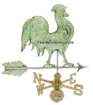 Rooster Antique Weather Vane