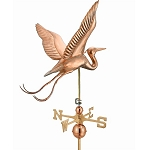 Large Blue Heron Weathervane