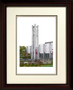 Temple University Alma Mater Framed Picture