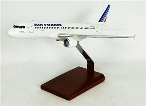 A320 Air France Commercial Aircraft Model