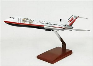 B727-200 TWA Commercial Aircraft Model