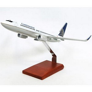 B737-800 Continental Commercial Aircraft Model