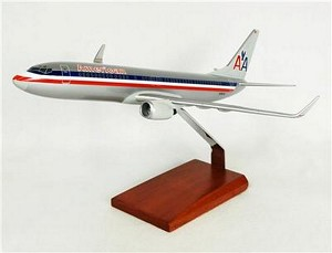 B737-800 American Commercial Aircraft Model