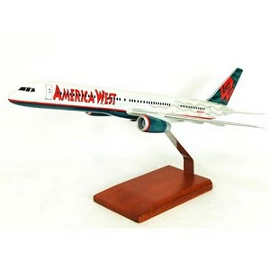 B757-200 America West Commercial Aircraft Model