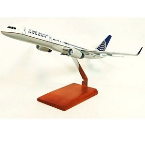 B757-200 Continental Commercial Aircraft Model