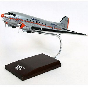 DC-3 American Commercial Aircraft Model