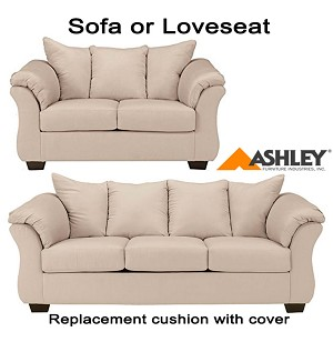 Ashley® Darcy Replacement Cushion Cover 7500038 or 7500035 Stone