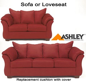 Ashley® Darcy Replacement Cushion Cover Only, 7500138 or 7500135 Salsa