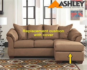 Ashley® Darcy replacement cushion and cover, 7500218 Mocha