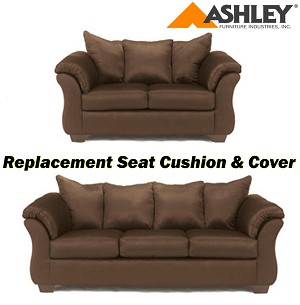 Ashley® Darcy replacement cushion and cover, 7500438 or 7500435 Café
