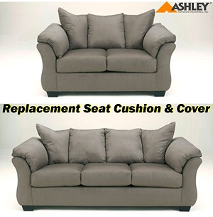 Ashley® Darcy replacement cushion and cover, 7500538 or 7500535 CobbleStone