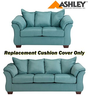 Ashley® Darcy Replacement Cushion Cover Only, 7500638 or 7500635 Sky