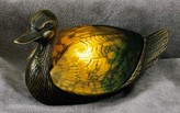 Duck Figural Resin Lamp 12.5 inches Length