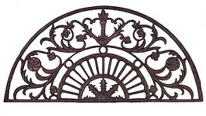 Cast Iron Architectural Arch