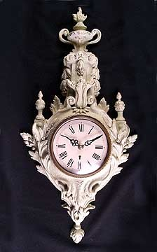 Antique White Wall Clock