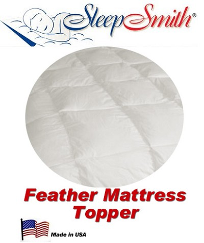 Round Bed Feather Bed Mattress Topper This Topper Is